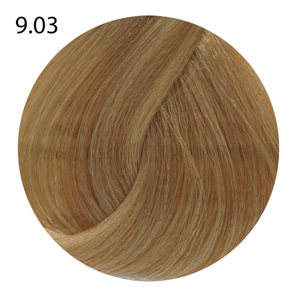 9.03 дуже світлий блондин коричневий без аміаку B.life color (100 ml)
