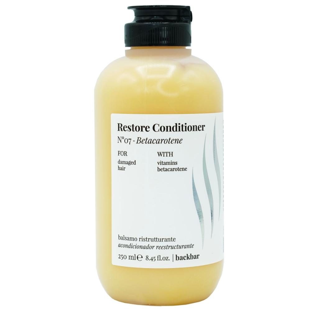 Back Bar №07 Кондиционер для поврежденных волос 250 ml