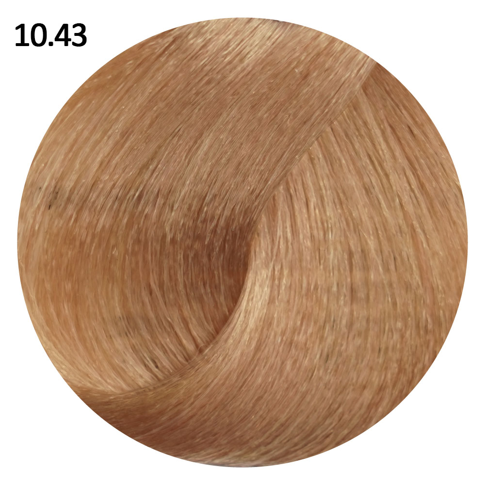 10.43 Платиновый медно-золотистый блондин EVE Experience 100 ml
