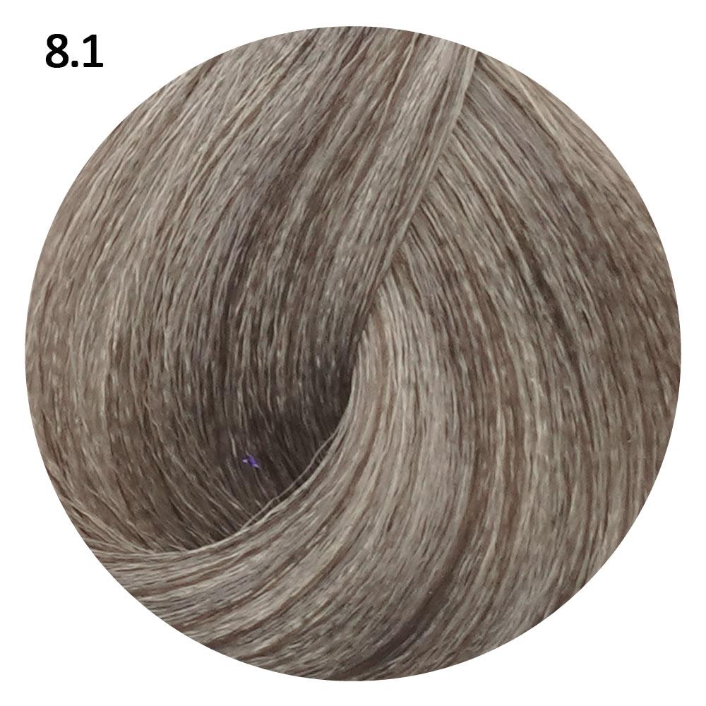 8.1 светлый блондин пепельный EVE Experience 100 ml