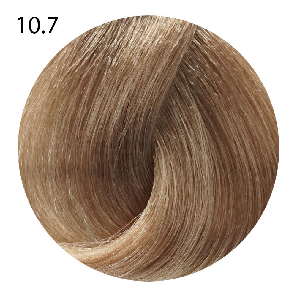 10.7 очень светлый блондин коричневый кашемир Life Color Plus (100 мл)