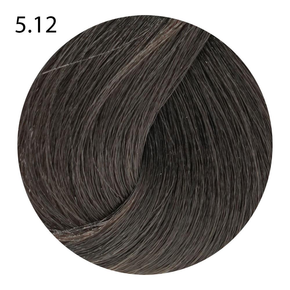 5.12 светло-каштановый пепельный ирис Suprema Color (60 ml)