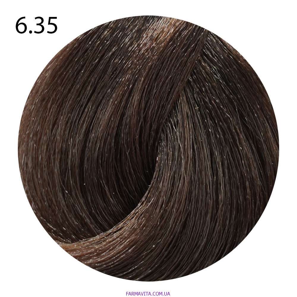 6.35 темный блондин шоколадный Suprema Color (60 ml)