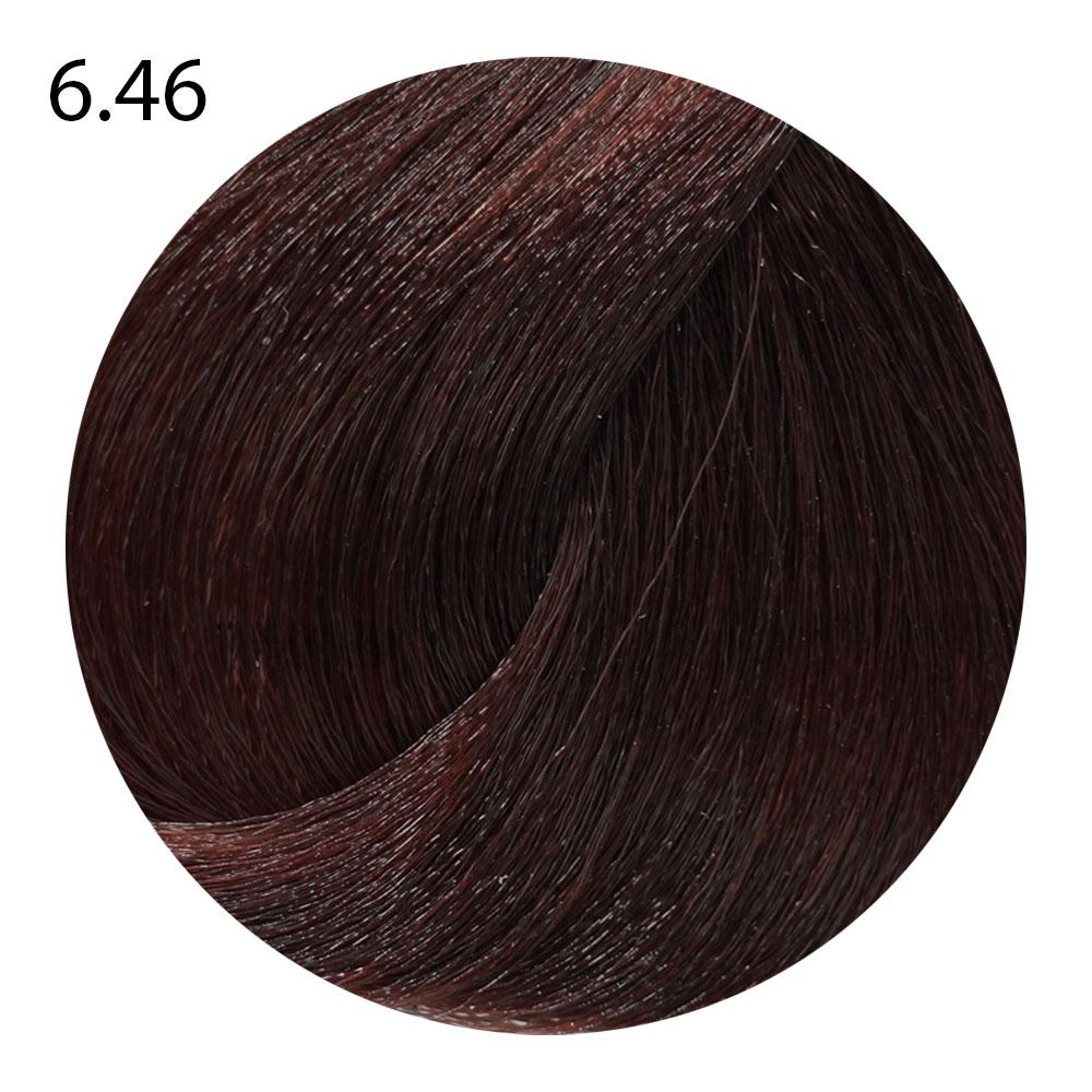 6.46 темный блондин медно-красный Life Color Plus (100 мл)