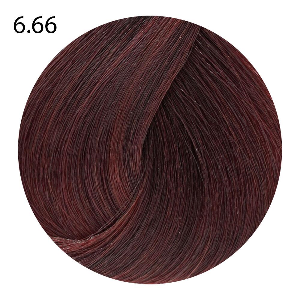 6.66 темный блондин насыщенный красный Life Color Plus (100 мл)