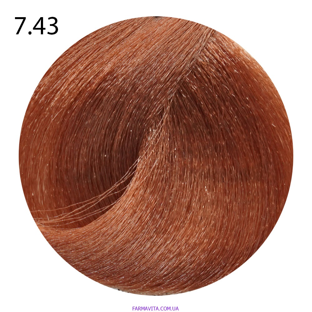 7.43 блондин золотисто-медный Life Color Plus (100 мл)