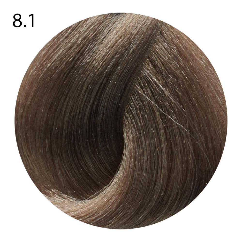 8.1 светлый блондин пепельный Life Color Plus (100 мл)