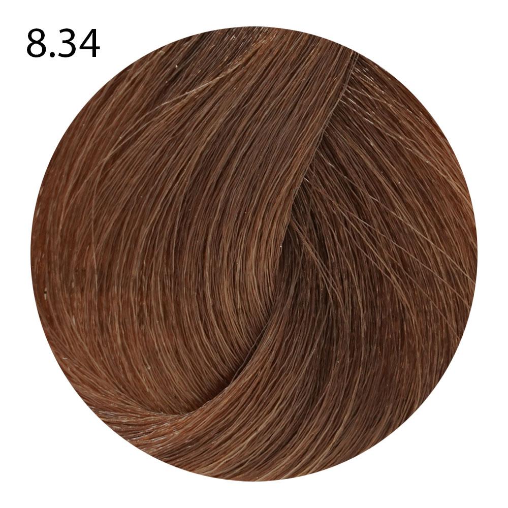 8.34 светлый блондин золотисто-медный Suprema Color (60 ml)