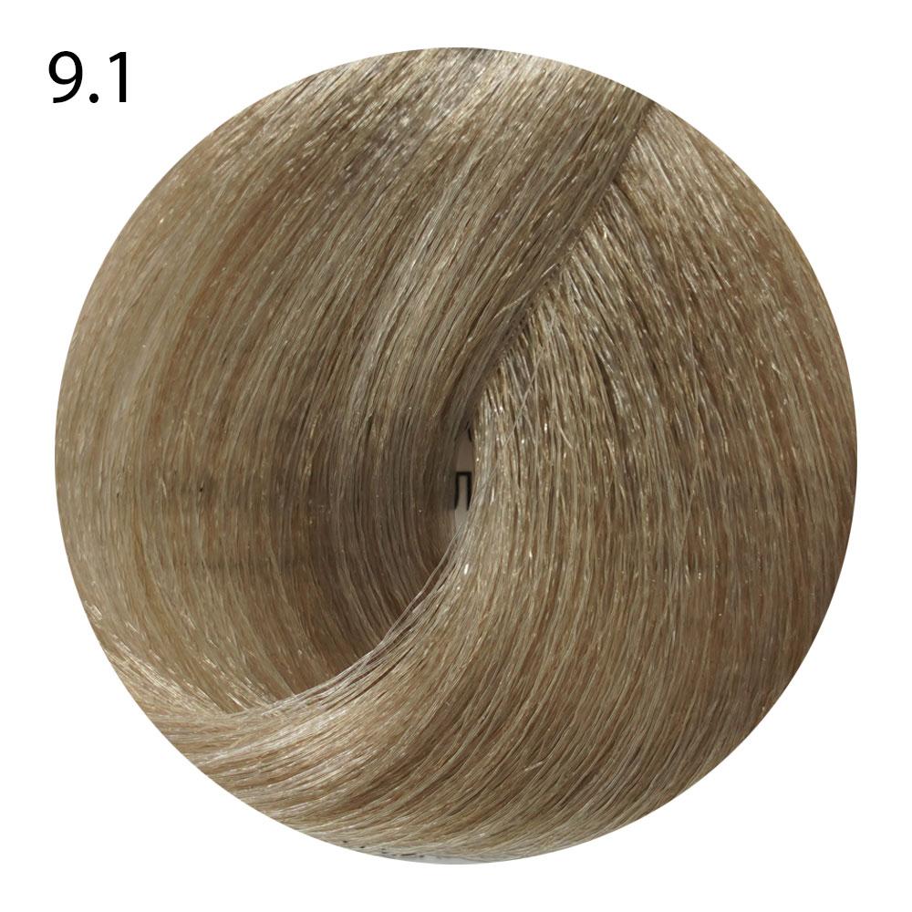 9.1 очень светлый блондин пепельный Life Color Plus (100 мл)