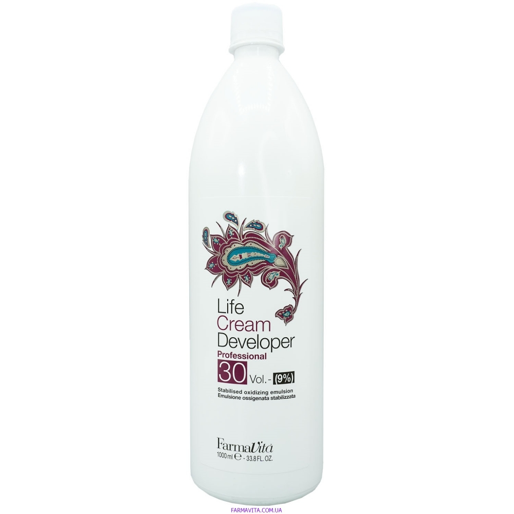 Cream Developer Окисляющая эмульсия 1000 ml (9%)