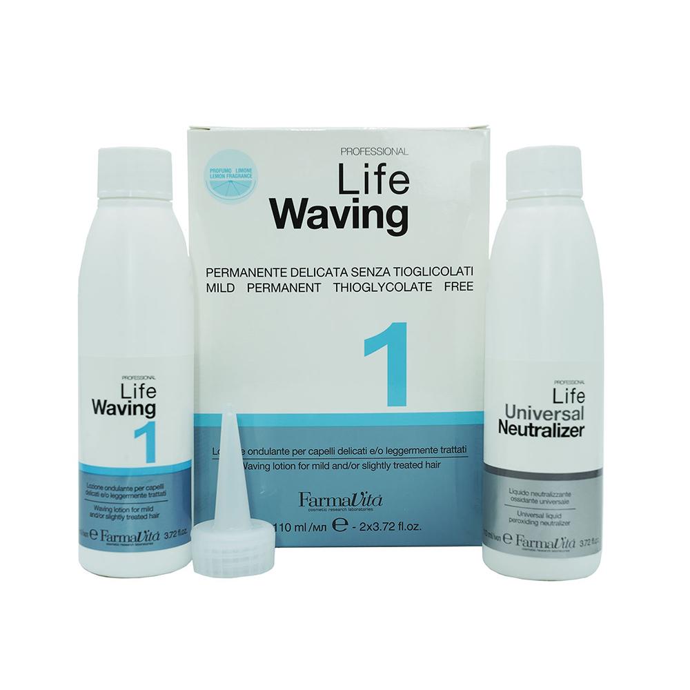 Life Waving Биозавивка для натуральных и окрашенных волос #1