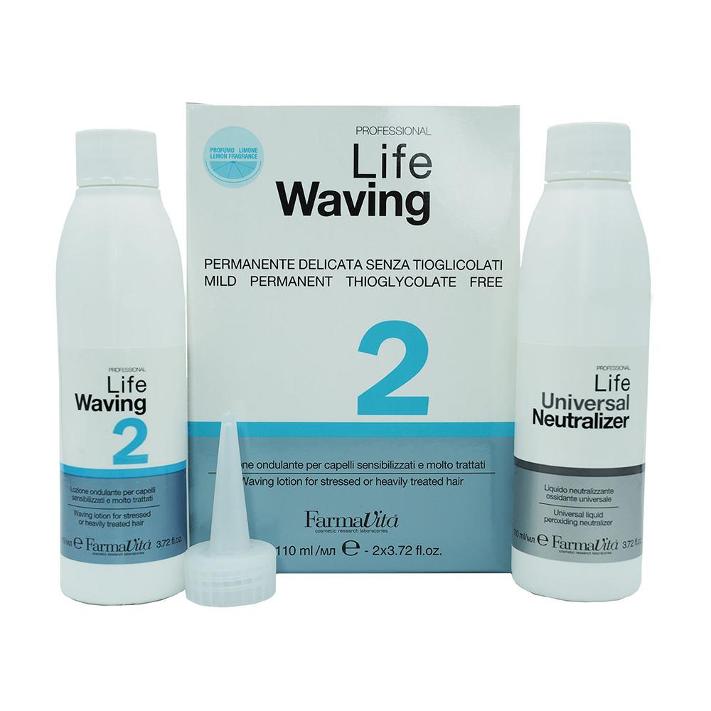 """Life Waving Биозавивка для """"Пережженных"""" и пористых волос #2"""