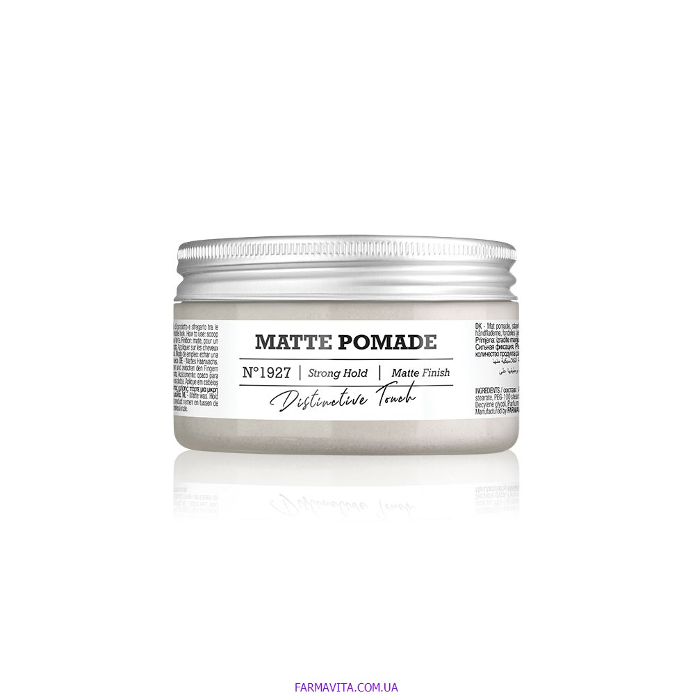 Amaro Matte Pomade Матовий віск 100 ml