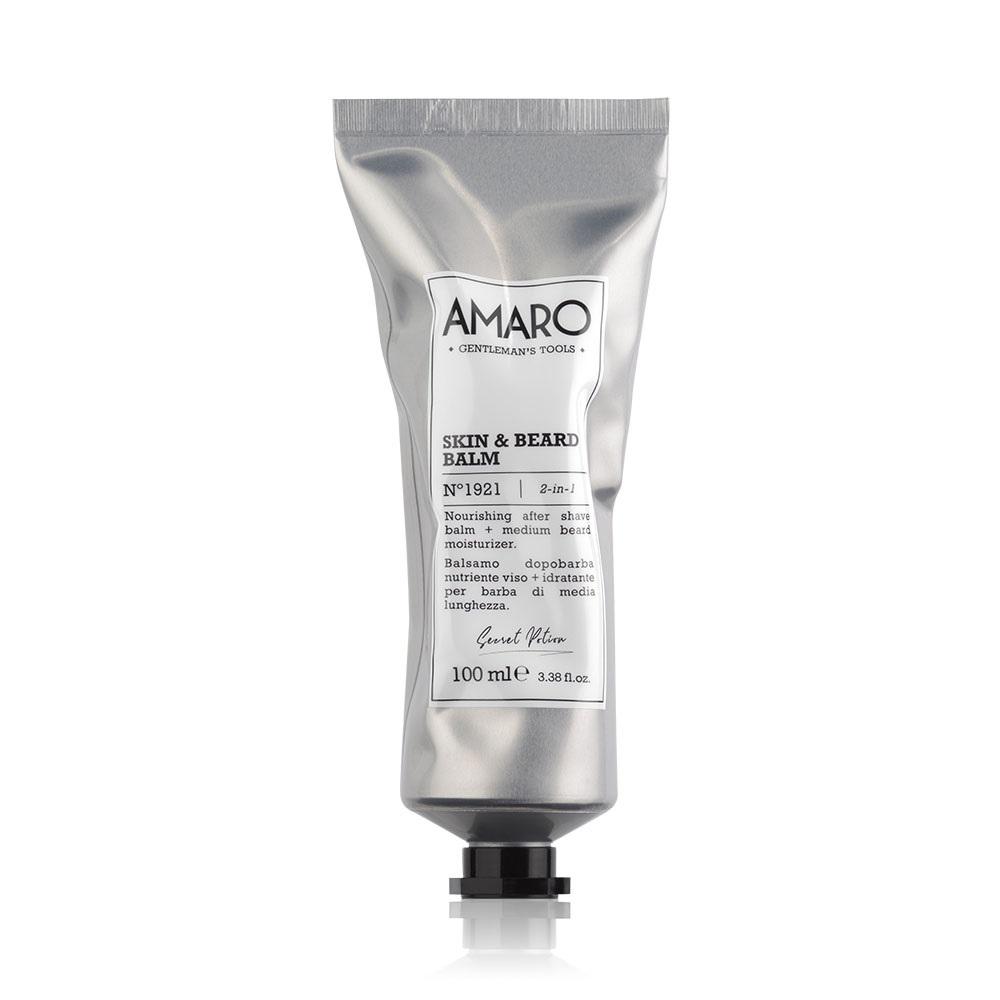 Amaro Skin and Beard Balm  Бальзам после бритья для кожи и бороды 100 ml