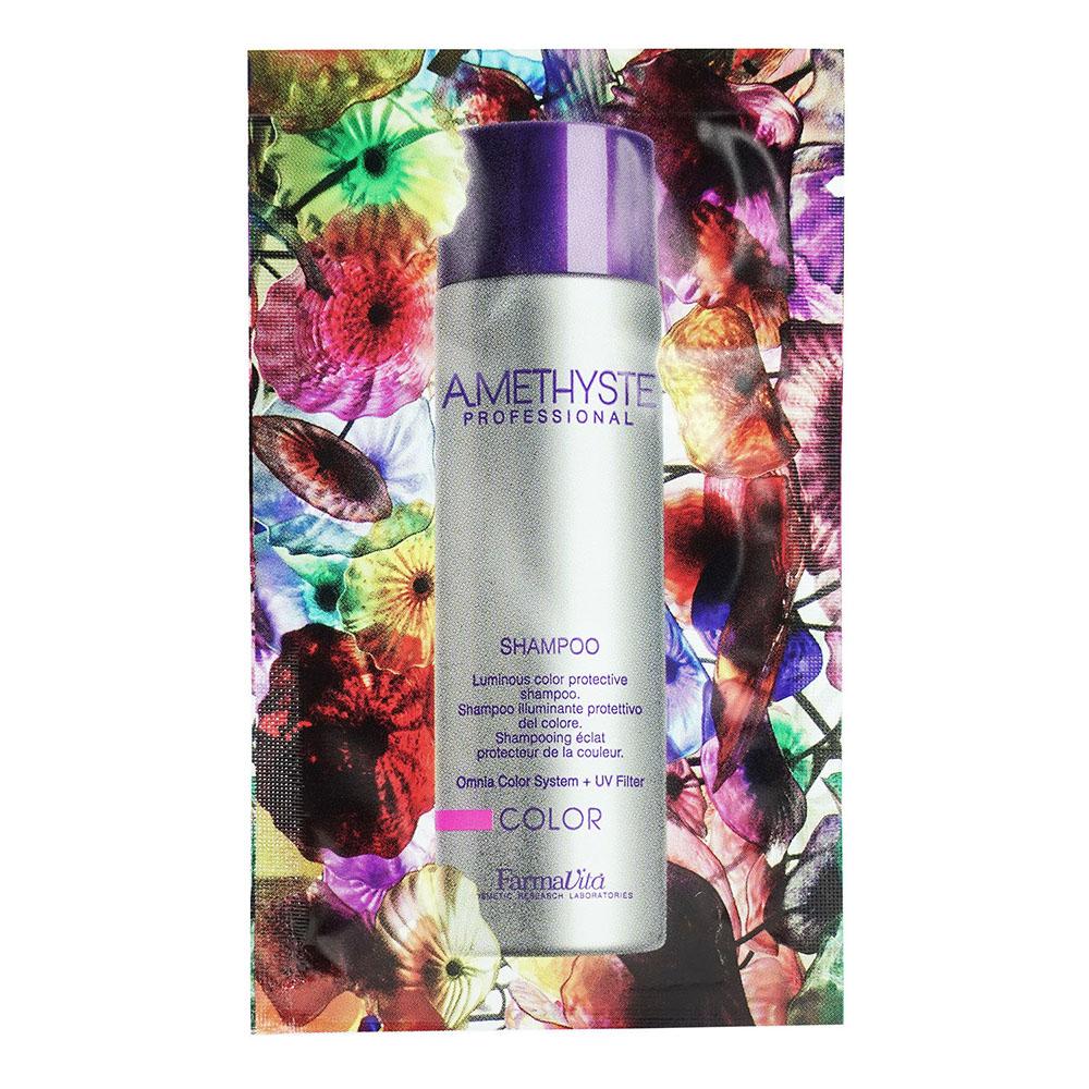 Amethyste Color Шампунь для фарбованого волосся 10 ml