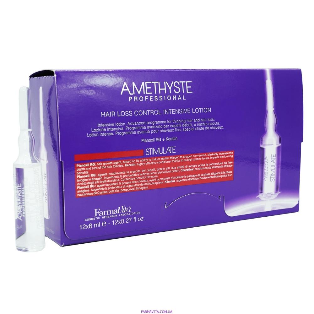 Amethyste Stimulate Лосьон для стимуляции роста волос (Ампулы) 12*8ml