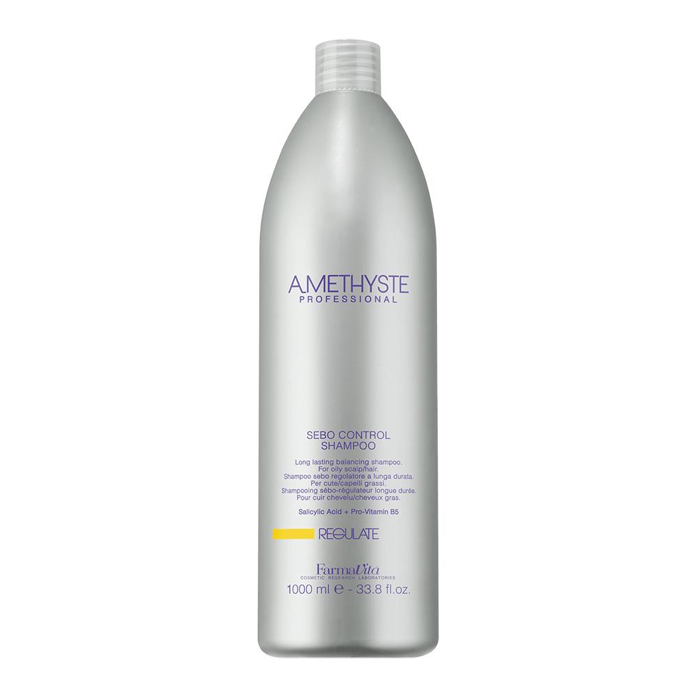 Amethyste Regulate Нормалізуючий Шампунь для жирної і сухої шкіри голови 1000 ml
