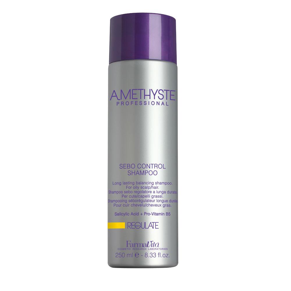 Amethyste Regulate Нормализующий Шампунь для жирной и сухой кожи головы 250 ml