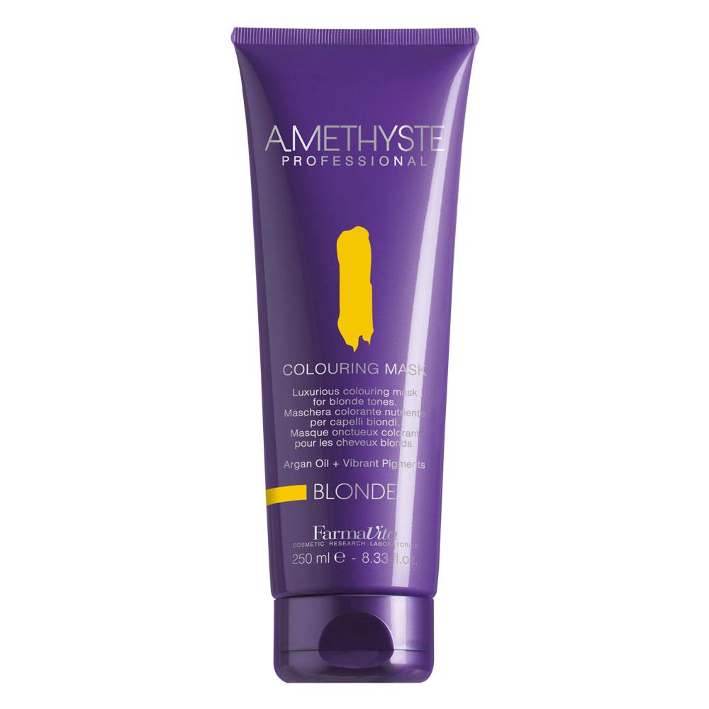 Amethyste BLONDE Тонирующая  маска для всех оттенков блонда 250 ml