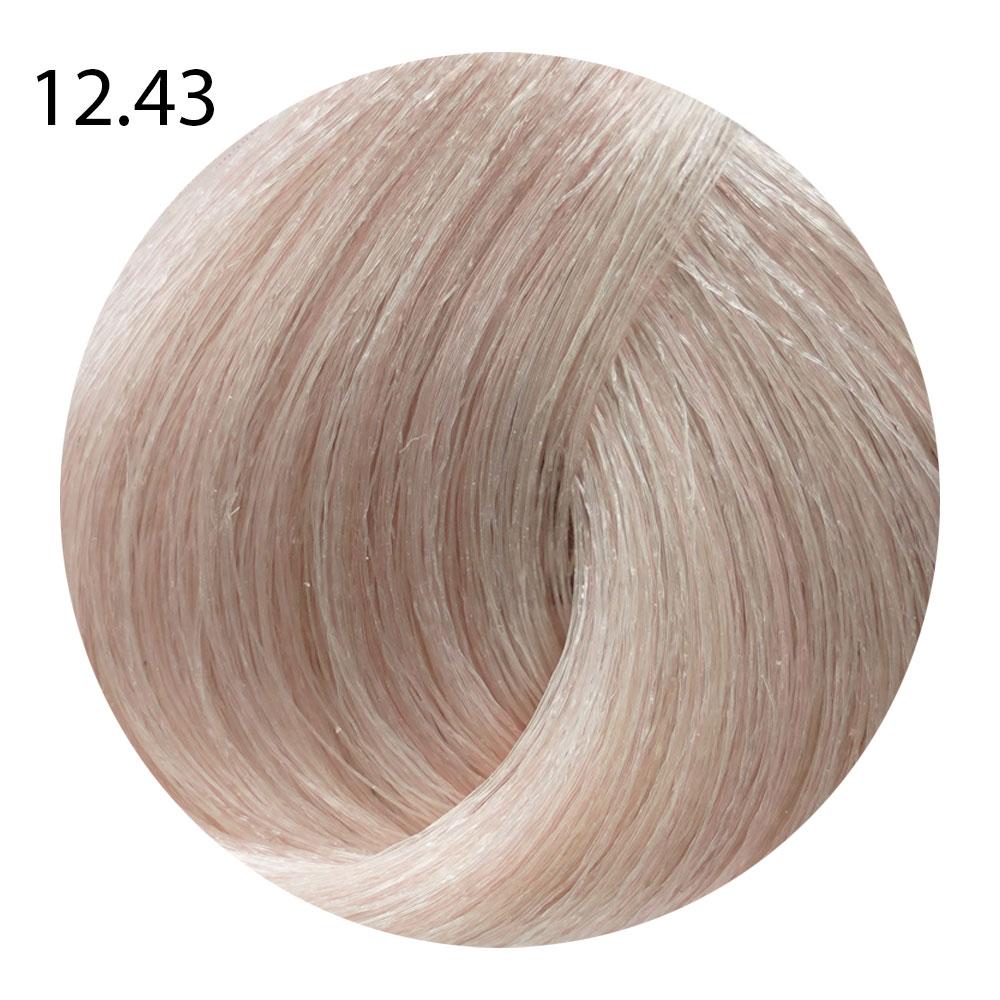 12.43 специальный блондин медно-золотистый, сильный осветитель Suprema Color (60 ml)