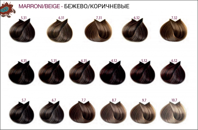 Бежево-коричневые